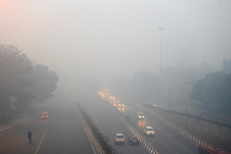 Pollution after Diwali