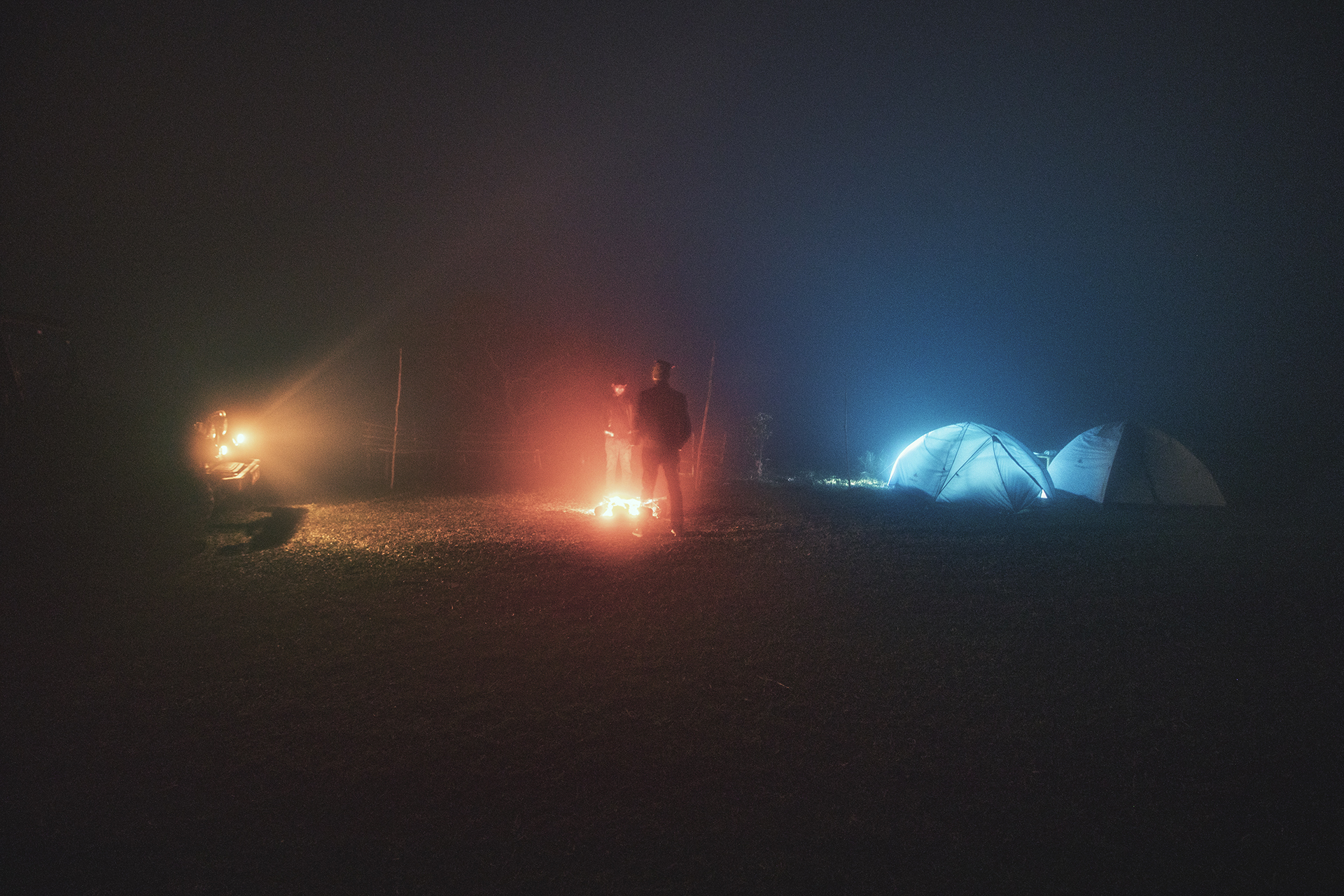 New Year's Eve at Eagle Point Camp at Vagamon