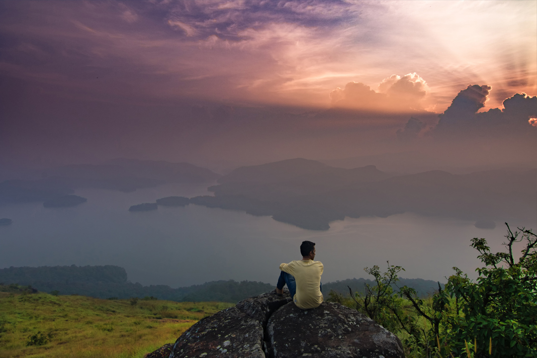 New Year Events. Experience the calmness. Idukki Dam View Camp