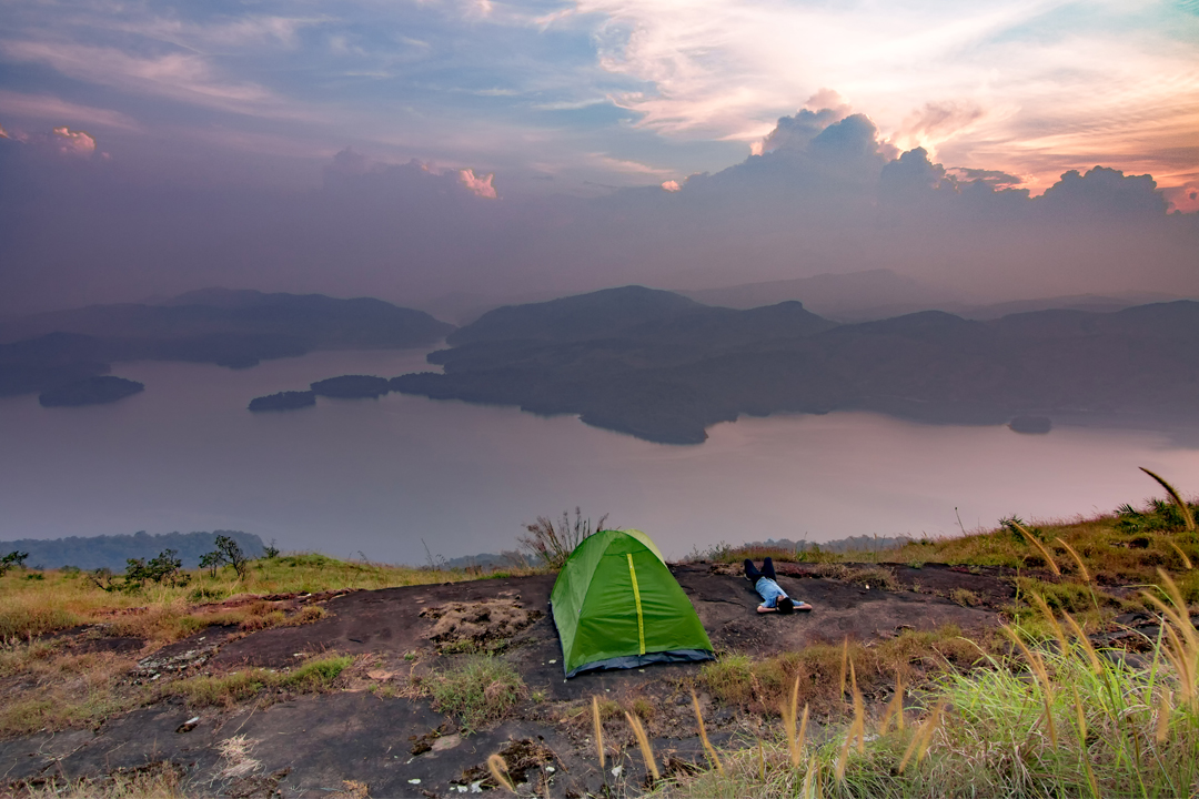 New Year's Eve at Idukki Dam View Camp