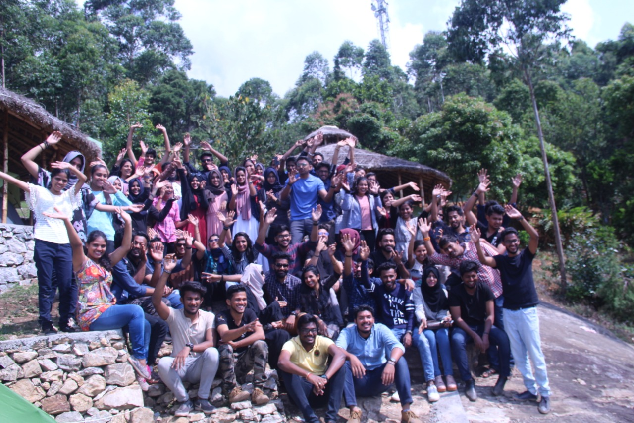 Wellness Tourism. Group Photograph from CampWoody