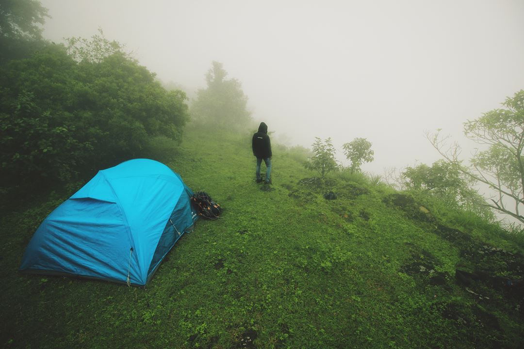 Risks of Camping. Secured Camping at Eagle View Camp, Vagamon