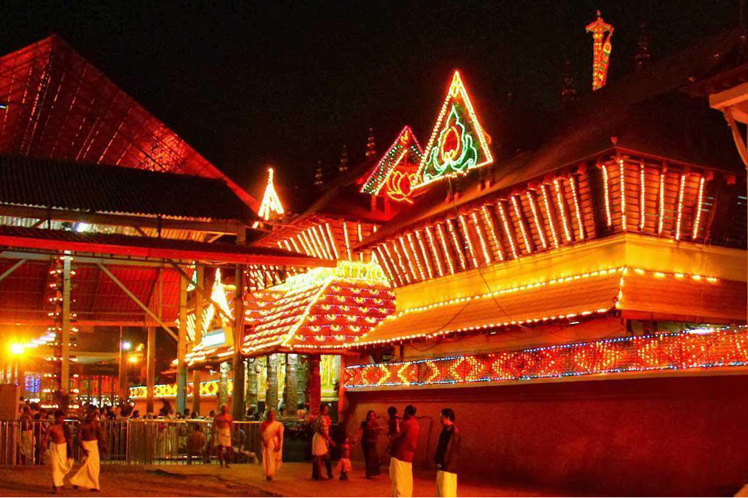 Guruvayur Temple. The Best Places To Visit In Kerala