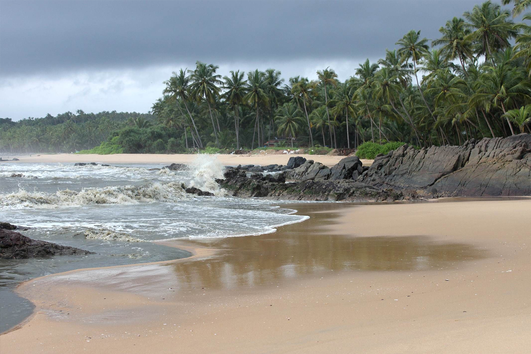 Kizhunna Beach. The Best Places To Visit In Kerala