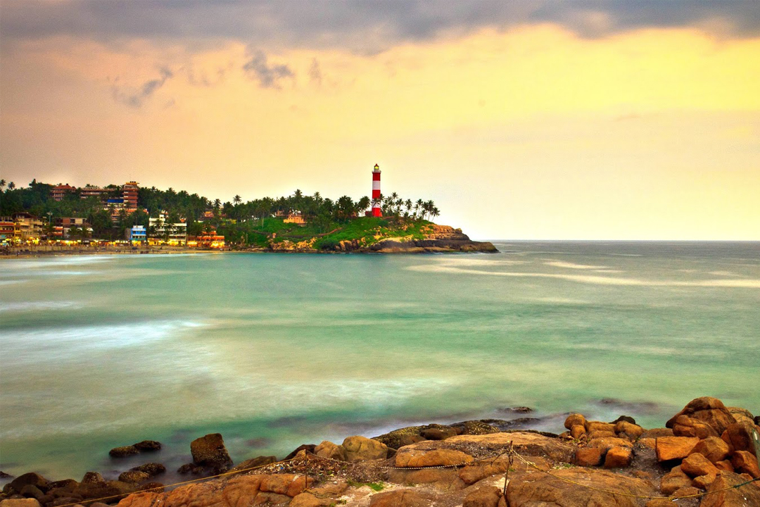 Kovalam. The Best Places To Visit In Kerala