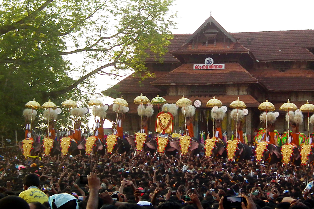 Thrissur. The Best Places To Visit In Kerala