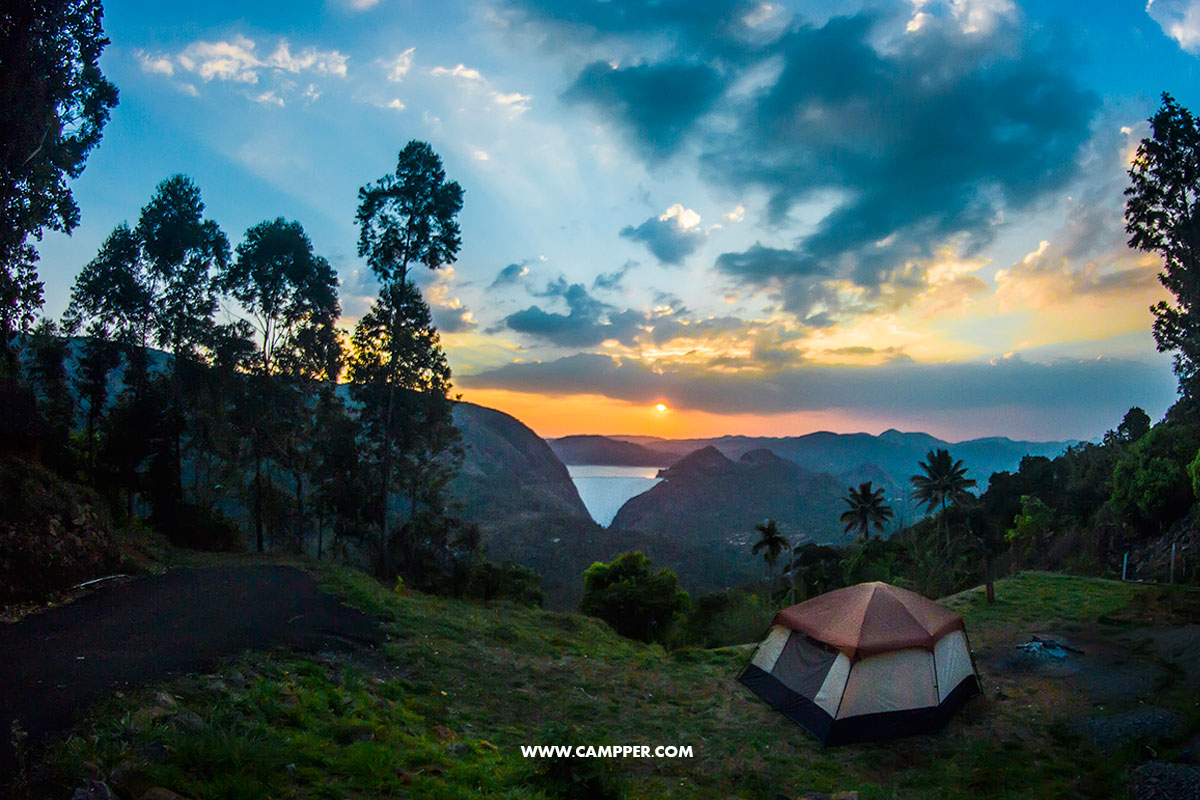 Idukki Dam View Camp