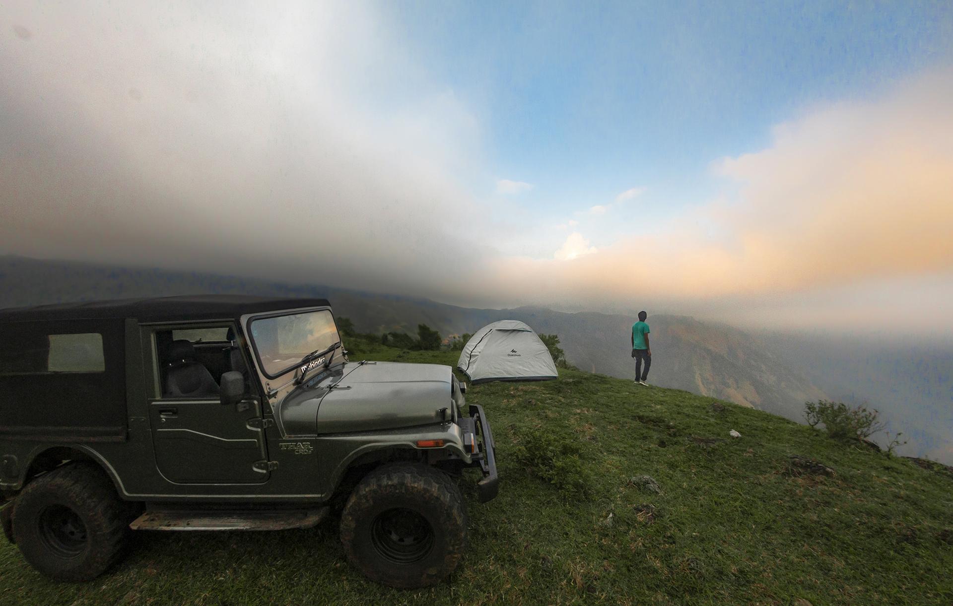 Vagamon Jeep Trekking