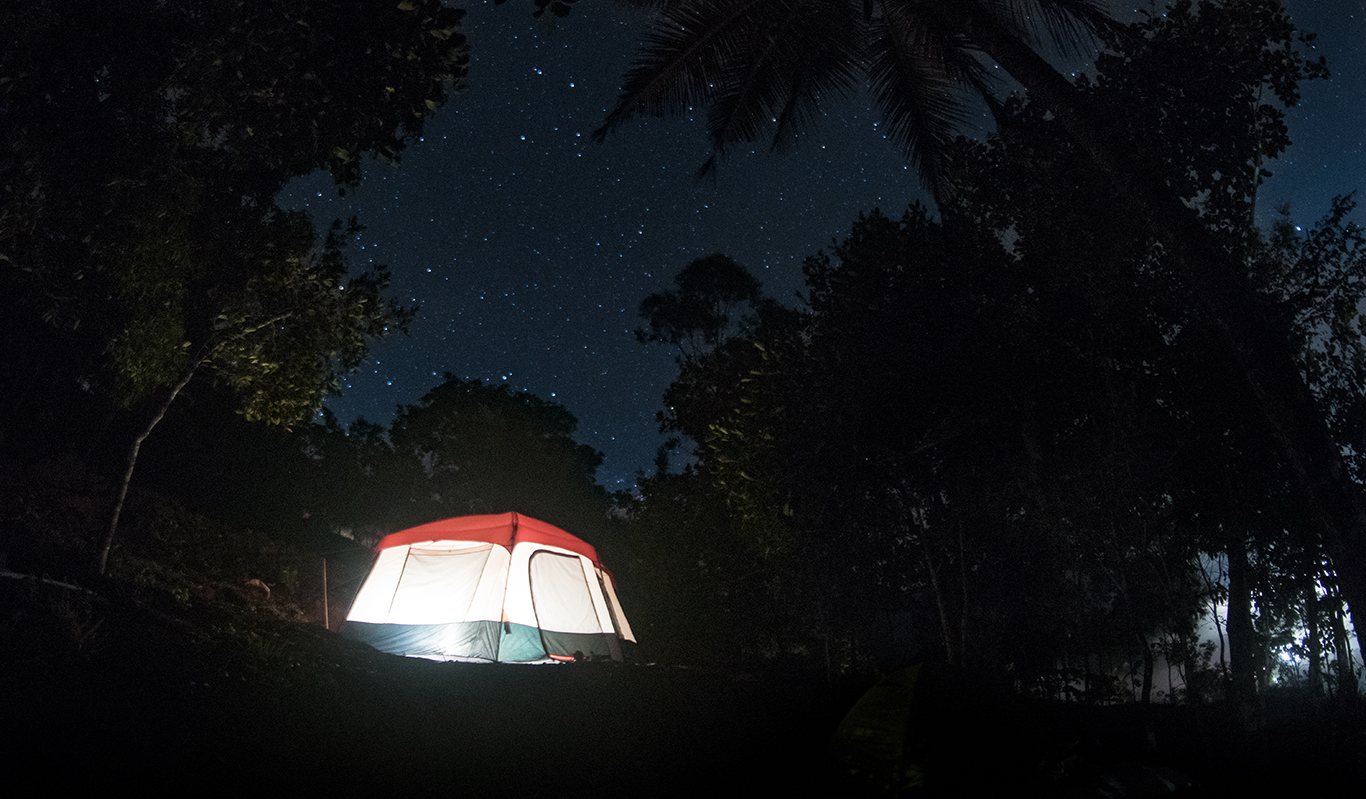New Year Camping with Campper