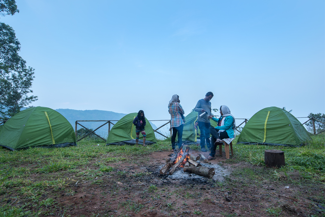 New Year Events. Idukki Dam View Camp