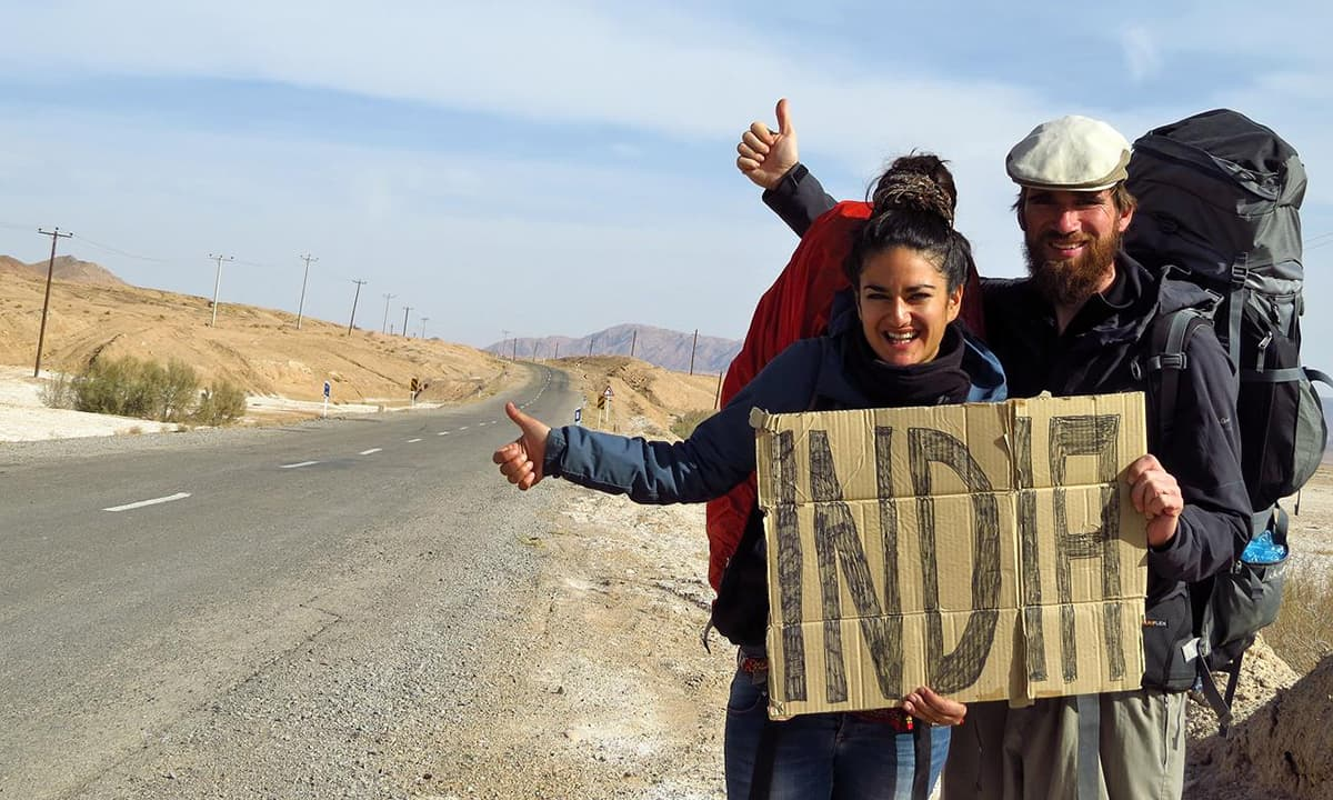 Hitchhiking. What If Travelling Was Free?