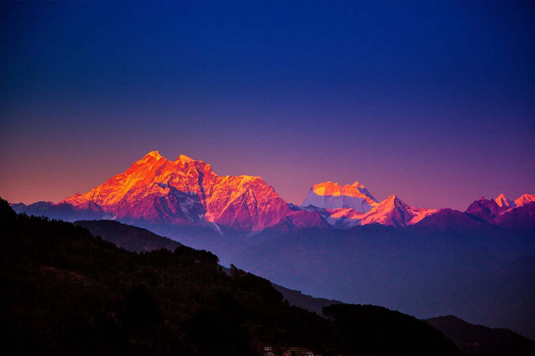 Mountain Ranges Of Himalayas