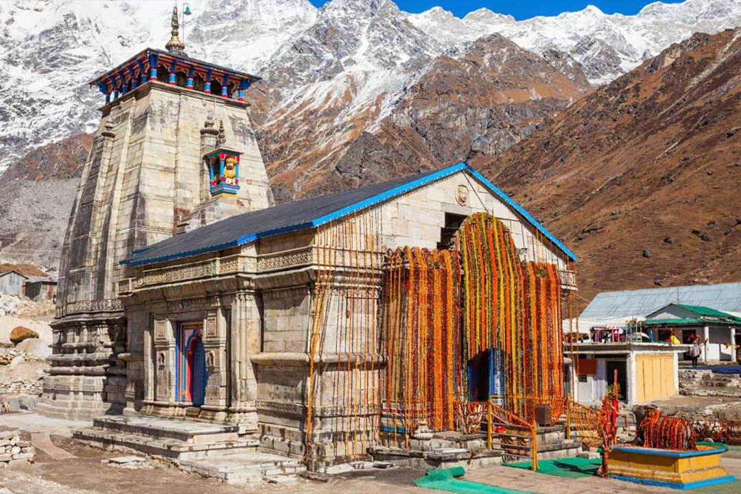 Kedarnath Temple. Himalayas