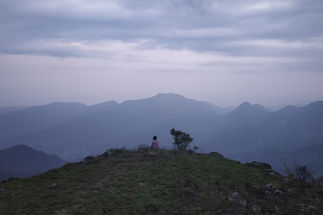 Camping in Vagamon Viewpoint