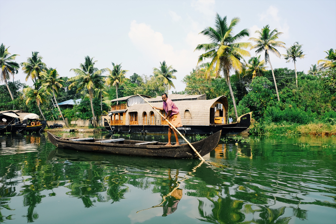 Backwaters of Alappuzha Alleppey